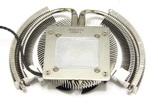 GeForce GTX 460 Cyclone Kühlerrückseite