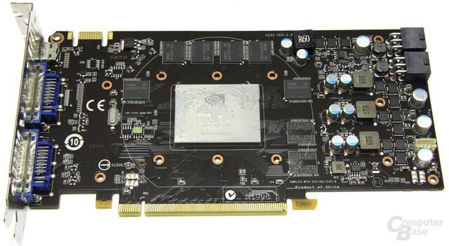 GeForce GTX 460 Cyclone ohne Kühler