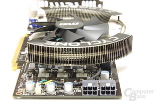 GeForce GTX 460 Cyclone von hinten