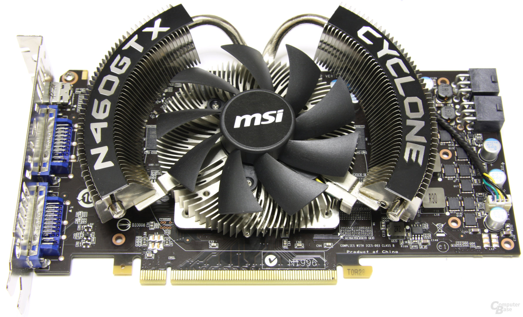MSI GeForce GTX 460 Cyclone