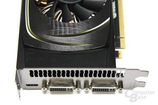 GeForce GTX 460 Anschlüsse