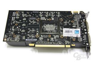 GeForce GTX 460 Rückseite