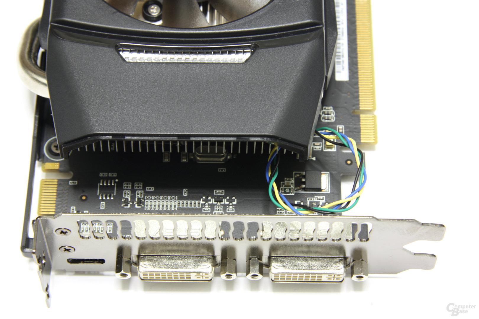 GeForce GTX 460 TOP Anschlüsse