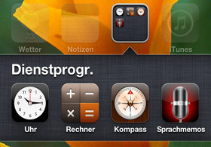 iOS 4.1: Ordner