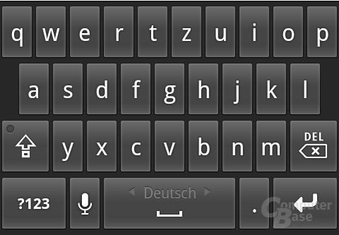 Android 2.2: Tastatur