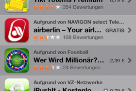 iOS 4.1: App Store (Genius-Funktion)