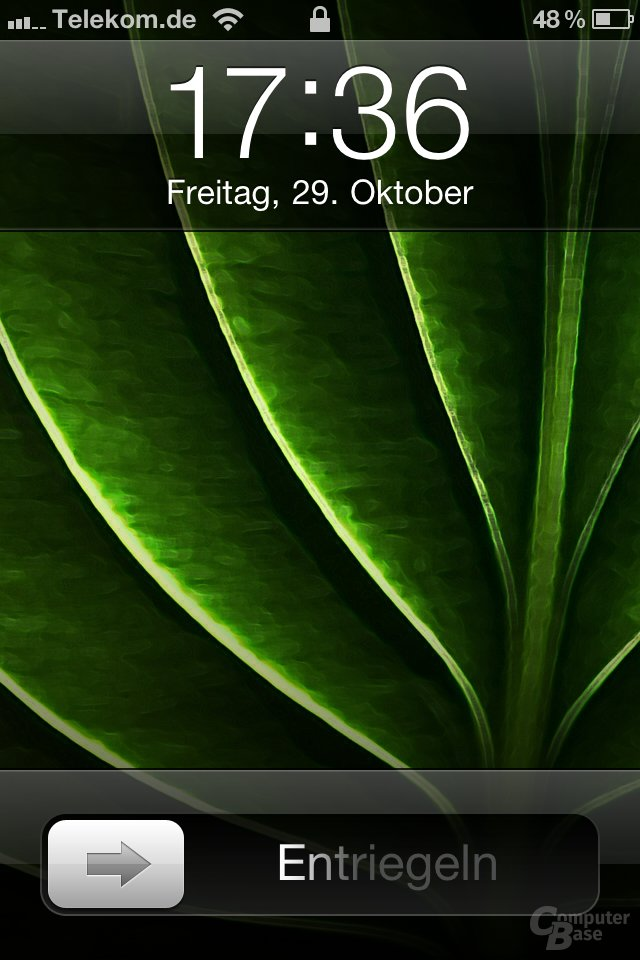 iOS 4.2: Einfache Display-Sperre