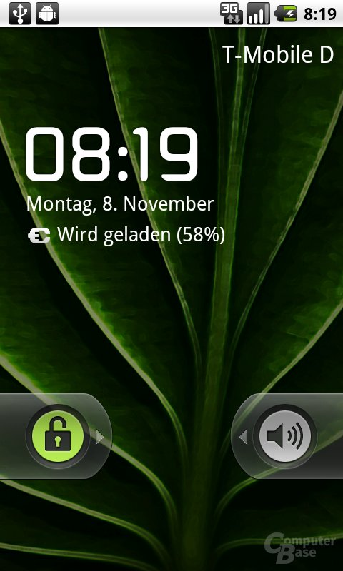 Android 2.2: Einfache Display-Sperre