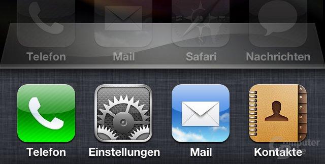 iOS 4.1: Laufende Prozesse