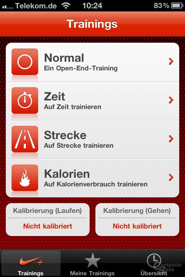 iOS 4.1: Nike iPod