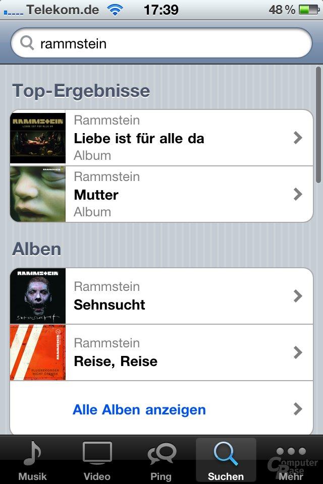 iOS 4.1: iPod