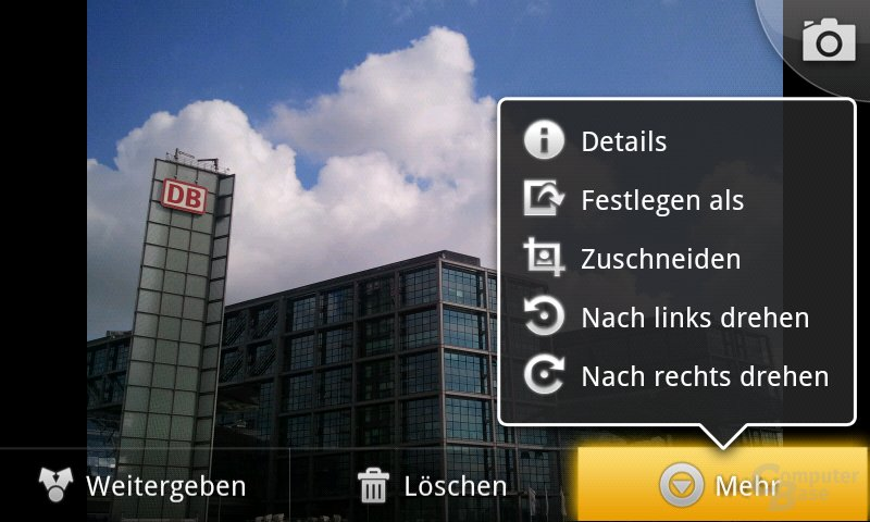 Android 2.2: Fotoansicht