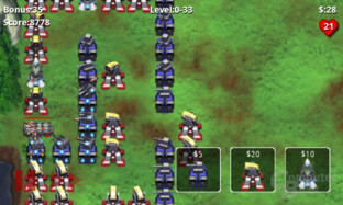 Android 2.2: Robo Defense Lite