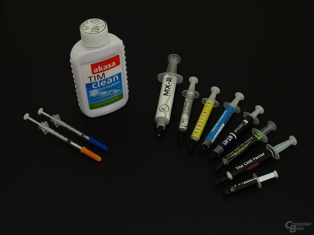 Referenz-Wärmeleitpasten und TIM-clean