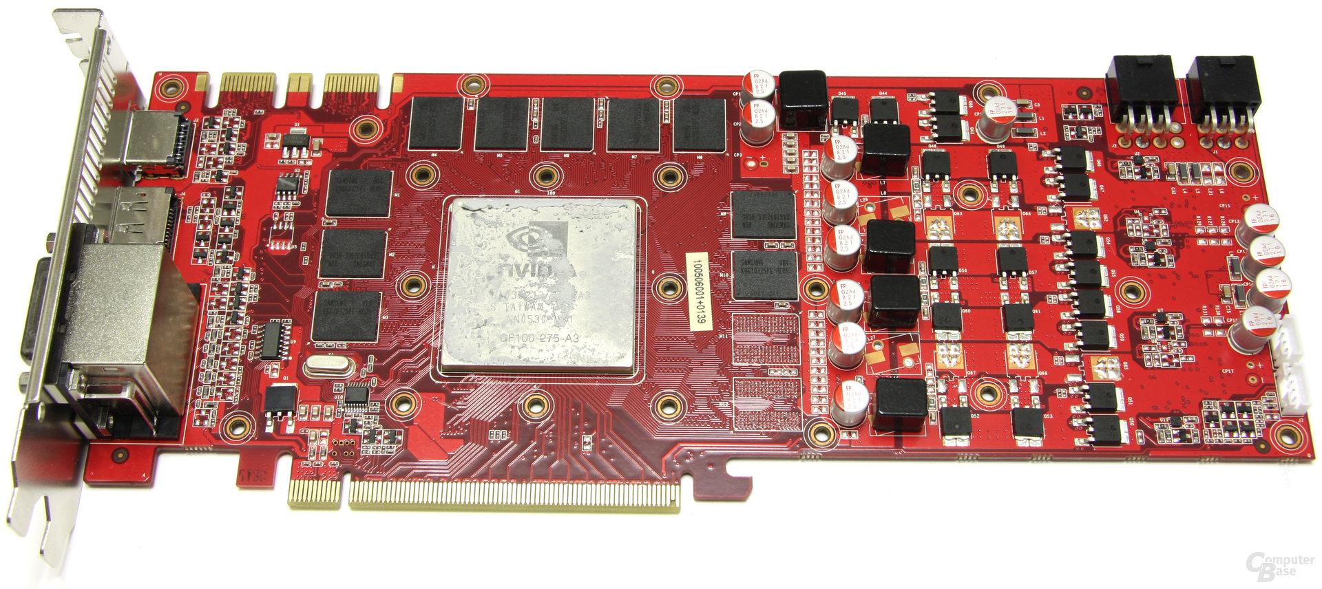GeForce GTX 470 GS ohne Kühler