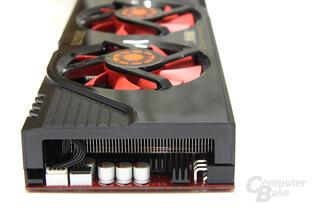 GeForce GTX 470 GS von hinten