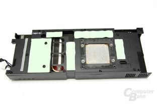 GeForce GTX 470 GS Kühlerrückseite