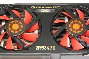 GeForce GTX 470 GS Schriftzug