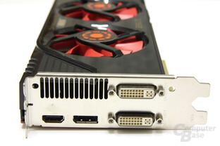 GeForce GTX 470 GS Slotblech