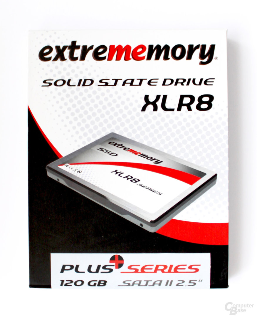 XLR8 Plus Verpackung