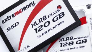 SSDs aus Deutschland im Test: extrememory XLR8 M gegen XLR8 Plus