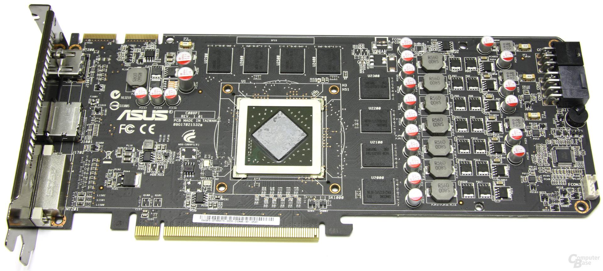 Radeon HD 5870 V2 ohne Kühler
