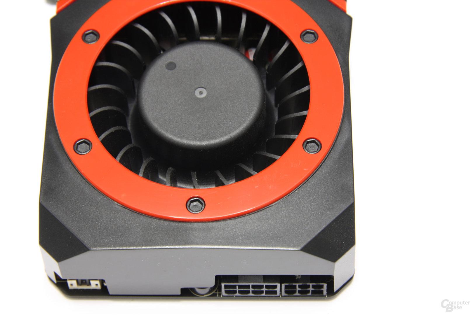 Radeon HD 5870 V2 von oben