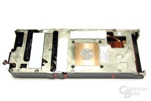 Radeon HD 5870 V2 Kühlerrückseite