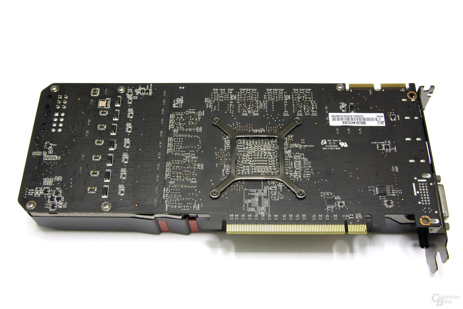 Radeon HD 5870 V2 Rückseite