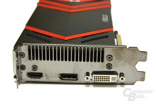 Radeon HD 5870 V2 Slotblech