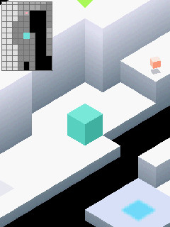 """Xperia X10 mini: Spiel """"Edge"""""""