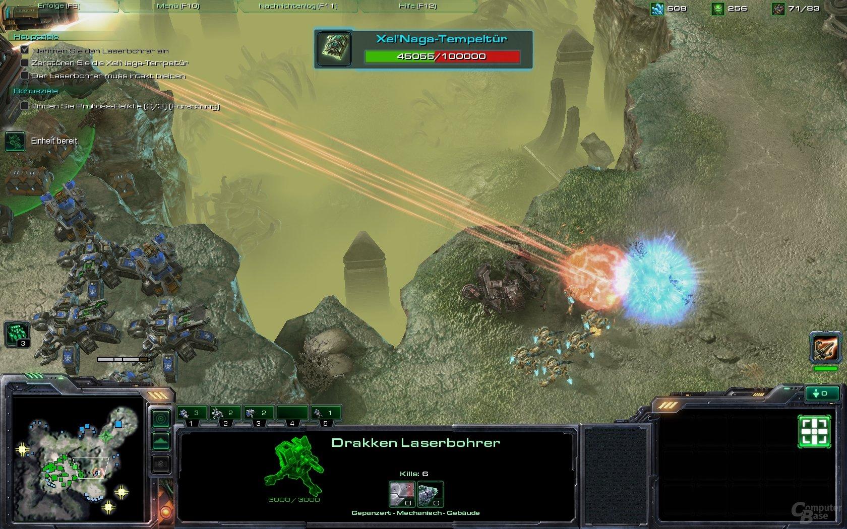 Ansehnlich: Gigantischer Laser in Aktion