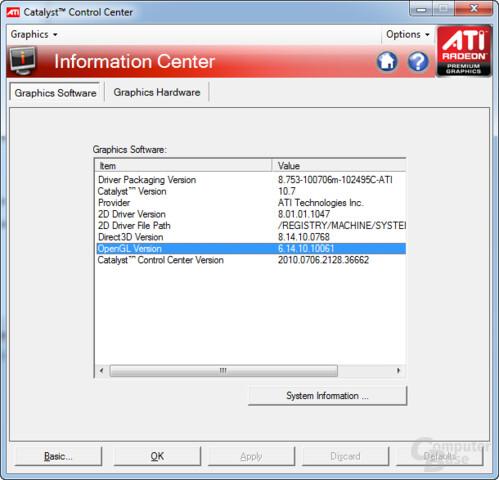 ATi Catalyst 10.7