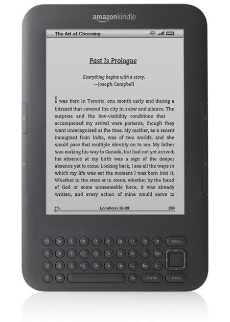 Dritte Generation des Kindle