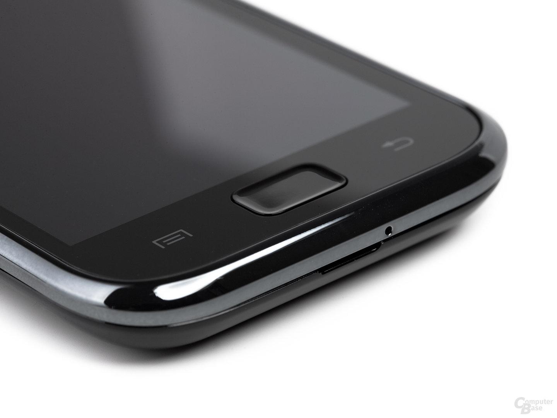 Samsung Galaxy S Funktionstasten (Ausschnitt von links)