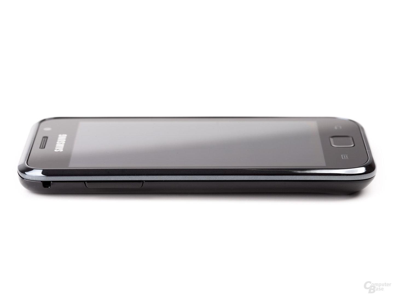 Samsung Galaxy S von links, flach