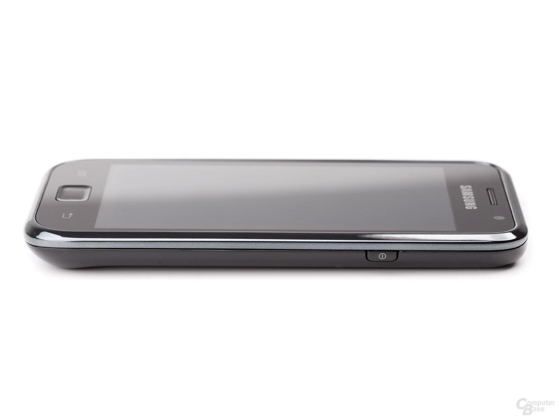 Samsung Galaxy S von rechts, flach