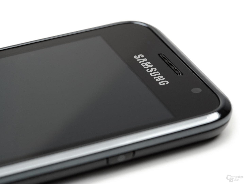 Obere Hälfte des Samsung Galaxy S von rechts (Ausschnitt)