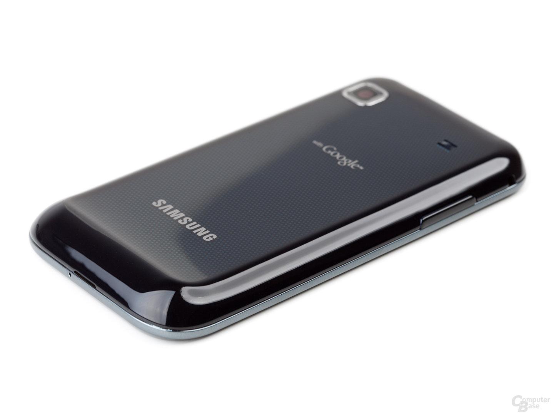 Rückseite des Samsung Galaxy S, flach