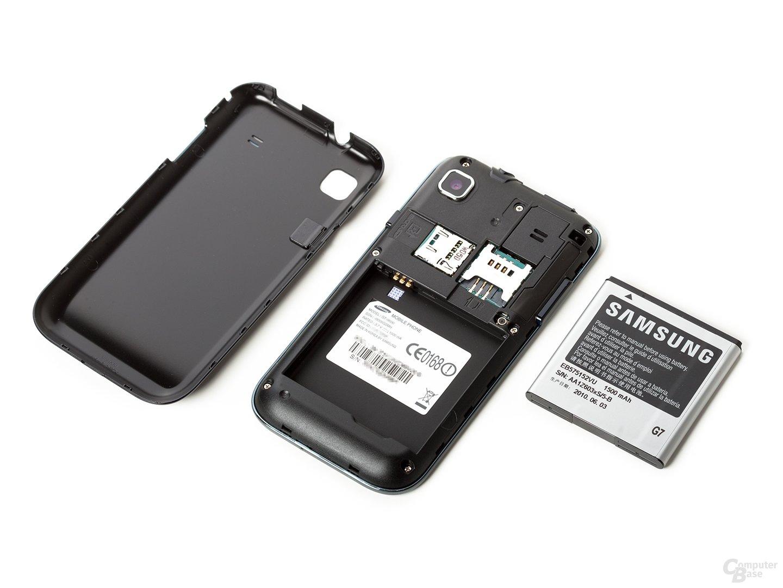 Samsung Galaxy S in drei Teilen
