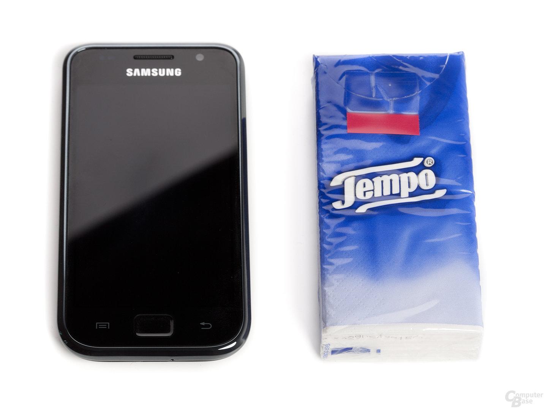 Samsung Galaxy S vs. Taschentücher