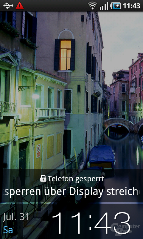 Samsung Galaxy S: Gesperrt