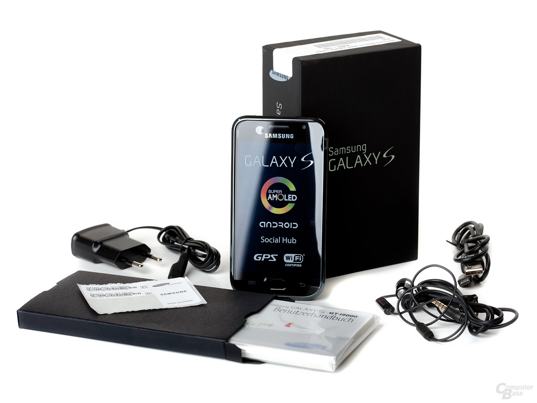 Samsung Galaxy S: Lieferumfang