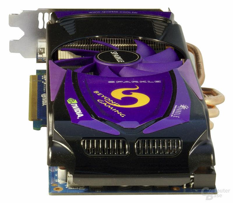 Sparkle GeForce GTX 465/470 mit neuem Kühler