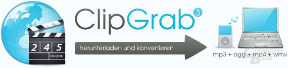 ClipGrab – Herunterladen und Konvertieren