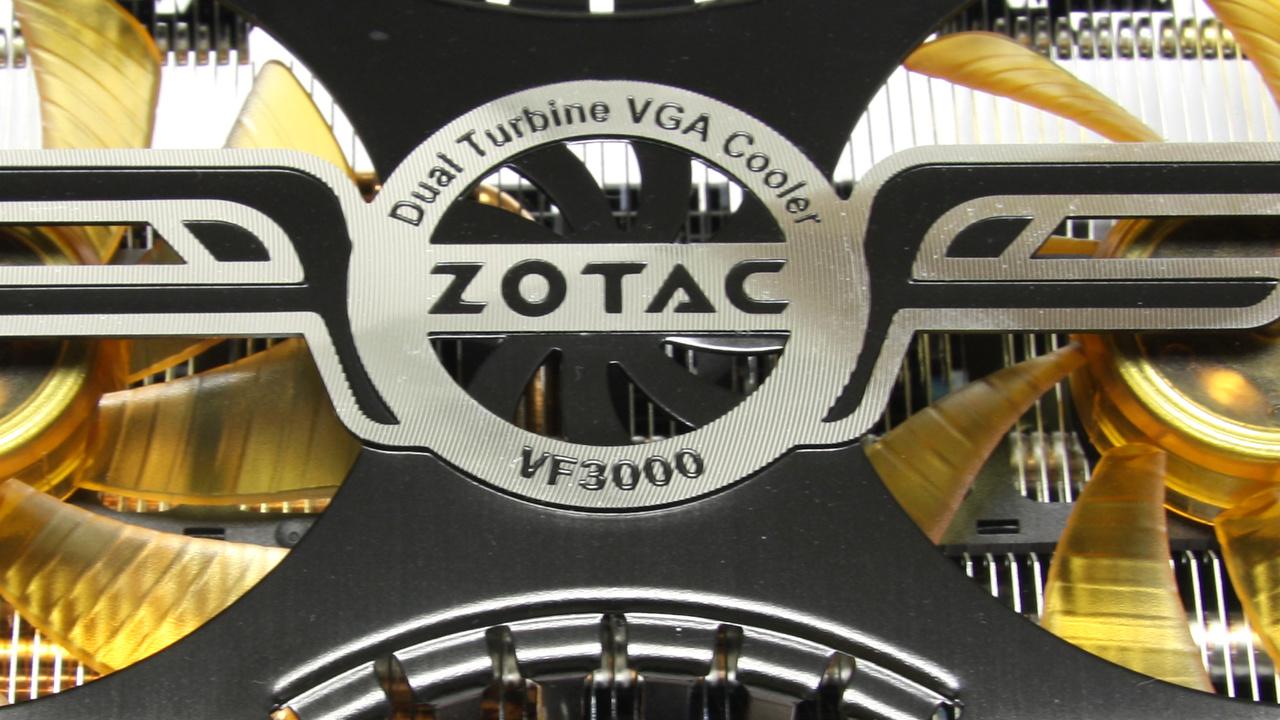 GeForce GTX 480 im Test: Zotac AMP! macht schnellste Nvidia-Karte brauchbar
