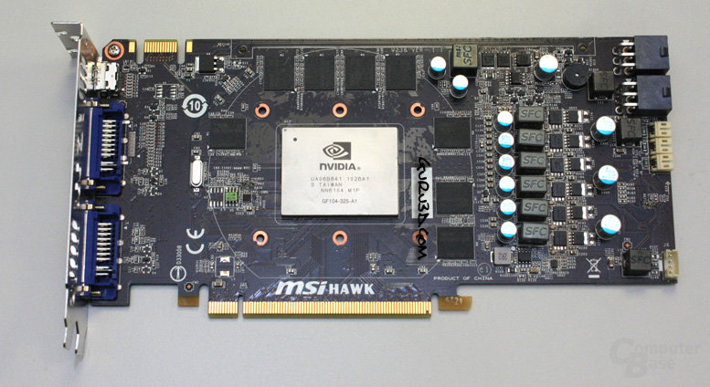 "MSI GeForce GTX 460 ""Hawk"""