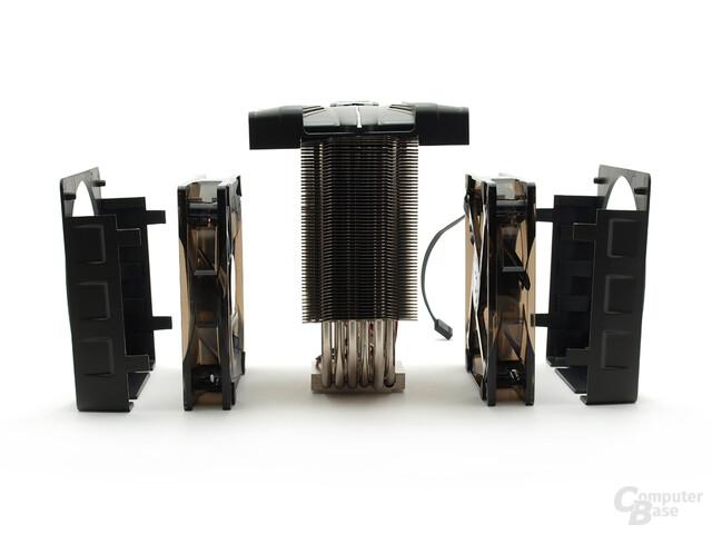 Baukastensystem mit Kunststoffabdeckung