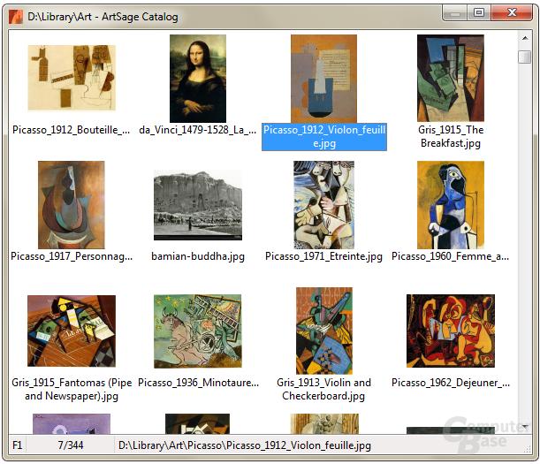 ArtSage – Catalog