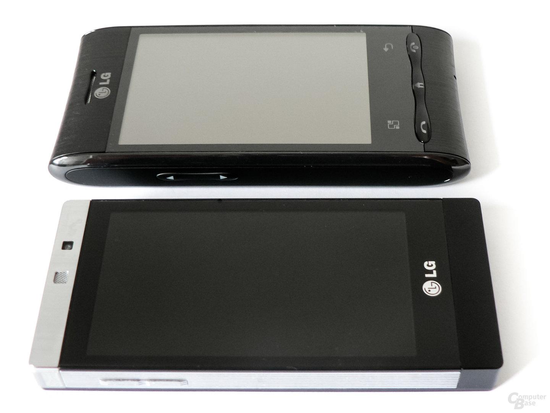 LG GD 880 Mini und LG GT 540